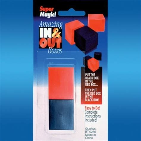 In N Out Gift Card - in n out boxes and inner outer box magic tricks toy pocket beginner puzzle joke ebay