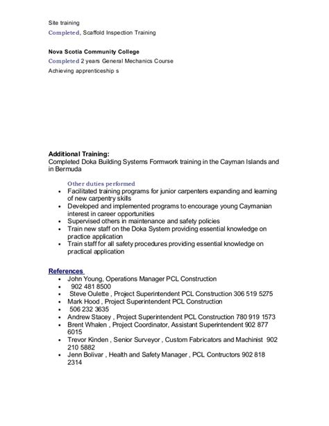 list of carpentry skills resume 28 images carpenter resume template 9 free sles exles carl
