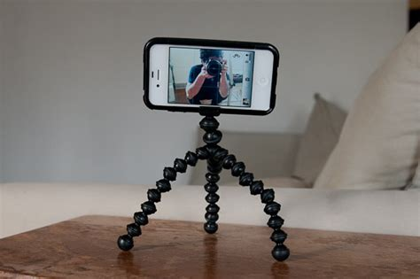 iphone tripod the joby gorillamobile tripod for iphone 4 s one useful gadget review cult of mac