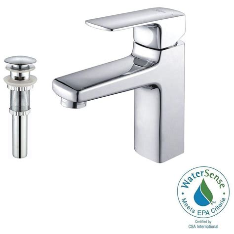 Matching Shower And Sink Faucets Kraus Virtus Single Single Handle High Arc Vessel