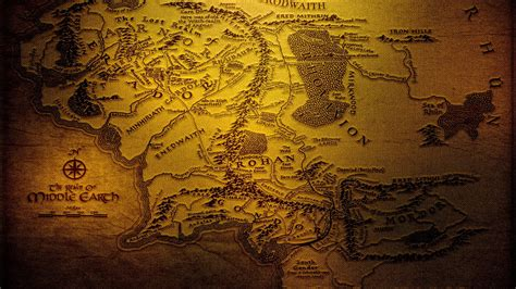 the lord of the rings middle earth map map of middle earth wallpaper 42 images