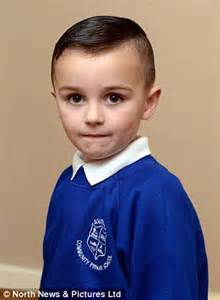 salford boy banned from school over extreme haircut inspired by sunderland boy is banned from school photograph after
