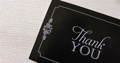when should you send thank cards for wedding gifts dos and don ts of sending wedding thank you cards southern