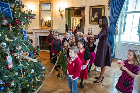 the white house for kids military kids and families take part in the annual holiday press preview whitehouse gov