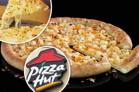 Mac N Cheese Pizza Hut pizza hut launches staggering new stuffed crust topping