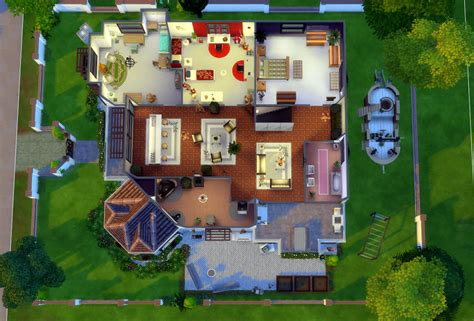 the sims 4 40x30 modern house floor plans home palace sims 4 houses
