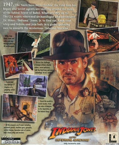 infernal machines books picture of indiana jones and the infernal machine