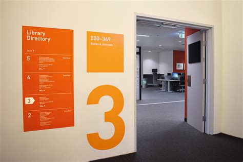 floor number signage by design a design thinking approach to library user experience