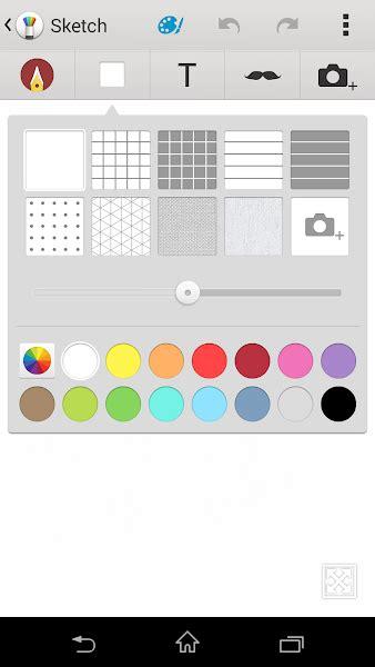 sketchbook xda app sketch app from xperia z2 sony xperia z