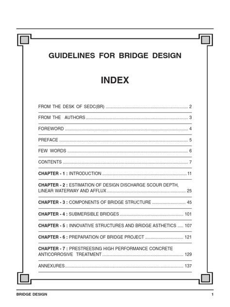 bridge structures design criteria version 6 0 guidelines bridge design bridge engineer