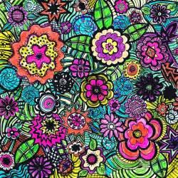 color doodle the sketchbook challenge floral doodle do