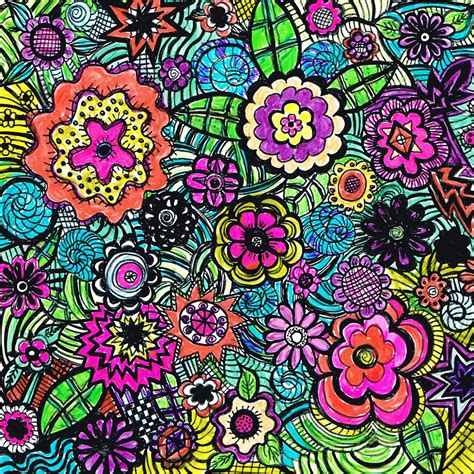 doodle meaning flowers flower doodles car interior design