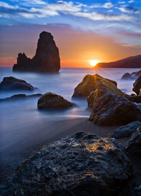 rodeo beach rodeo beach sunset pentax user photo gallery