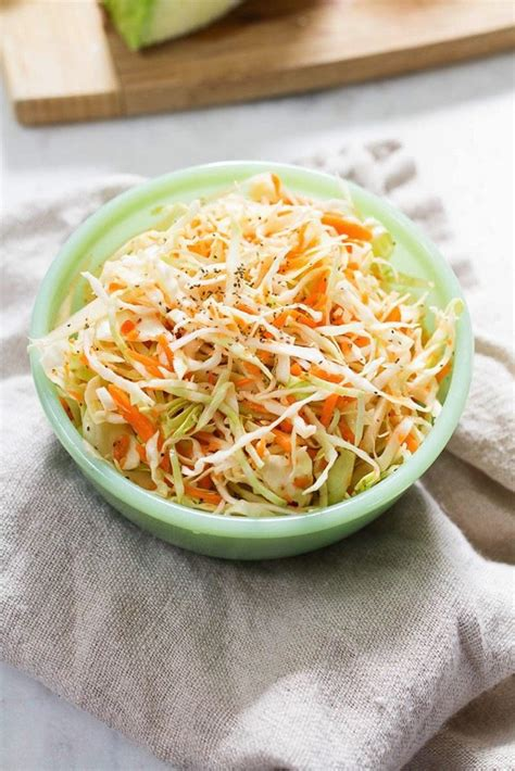 vinegar coleslaw