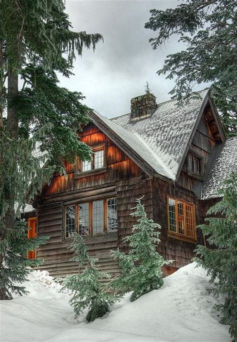Snowy Cabins by Snowy Cabin Interesting Things