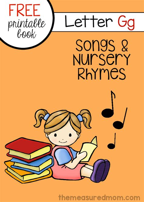 rhymes 2 worse than we knew books nursery rhymes and songs for letter g free letter book