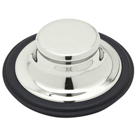 garbage disposal sink stopper insinkerator sink stopper in matte black for insinkerator