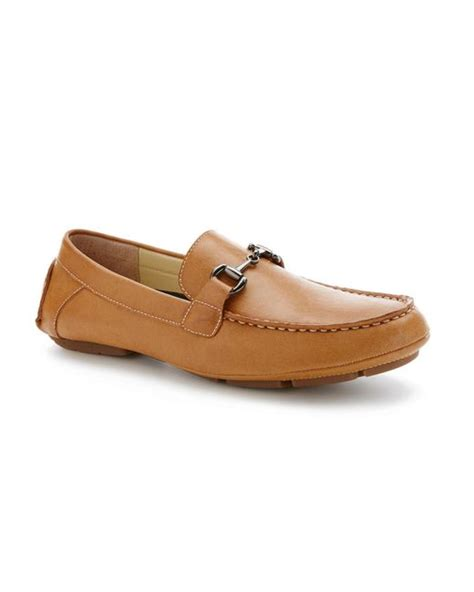 perry ellis loafers perry ellis nick loafer shoe in brown for lyst