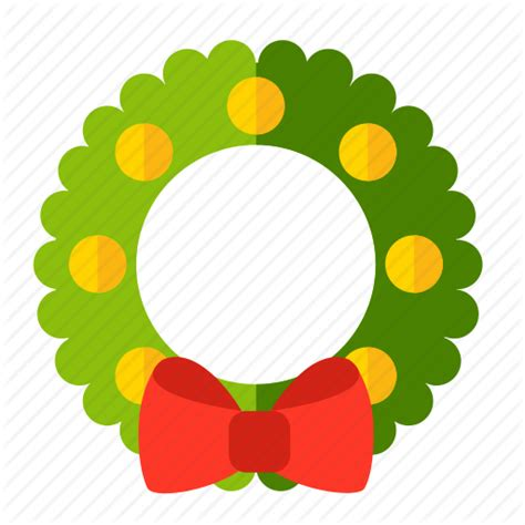 new year icon new year wreath icon icon search engine