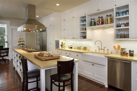 yellow countertops transitional kitchen artistic