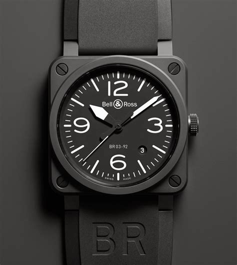 Bell Ross bell ross br 03 92 ceramic time and watches