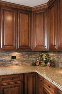 Ideas For Backsplash In Kitchen kitchen stained kitchen cabinets cherry kitchen cabinets kitchen