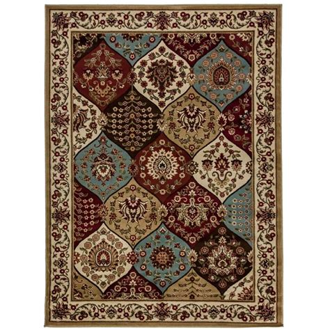 overstock rugs 3x5 panel ivory area rug 3 11 x 5 3