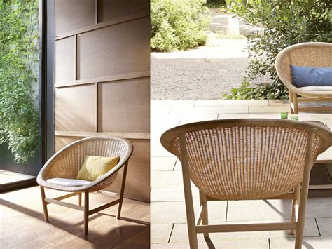 Kettal Outdoor Furniture by Patio Things Basket Chair By Kettal Braided In Wicker