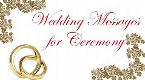 wedding ceremony invitation msg wedding messages for ceremony wishes for marriage ceremony