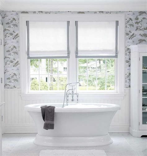 curtains for bathroom windows ideas 9 bathroom window treatment ideas deco window fashions