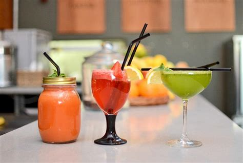 Detox Drinks Liverpool by The Brink Springs Into To Refresh Rejuvenate
