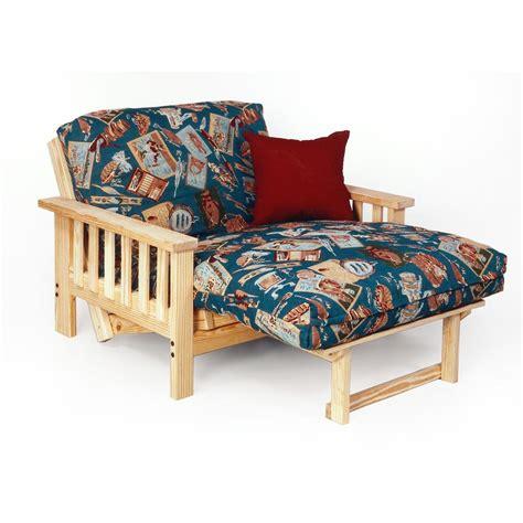 twin futon lounger himalaya pine twin lounger futon frame 113131 living