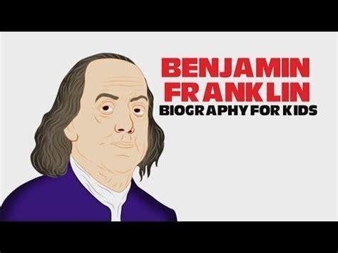 benjamin franklin biography youtube best 25 benjamin franklin for kids ideas on pinterest