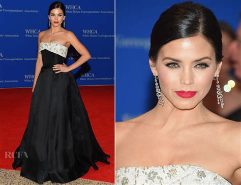 jenna dewan tatum 2015 white white house correspondents association dinner red