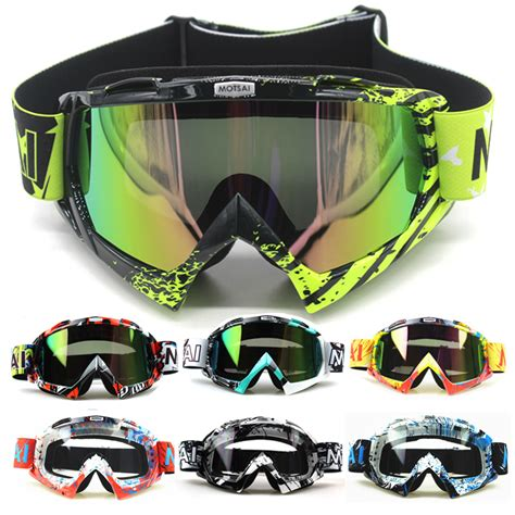 motocross helmets with goggles new motocross goggles glasses oculos cycling mx off road