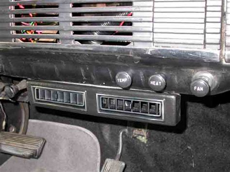 automotive air conditioning repair 1954 chevrolet corvette engine control 1954 chevrolet pickup truck center vents classic auto air air conditioning heating for 70