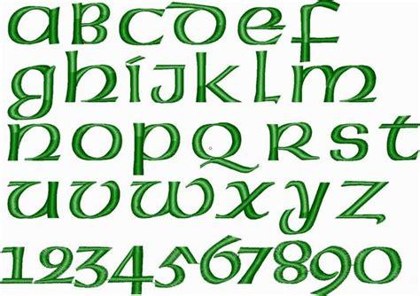 celtic pattern font irish fonts irish celtic embroidery font apex