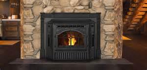 kamin pellets pellet fireplace inserts