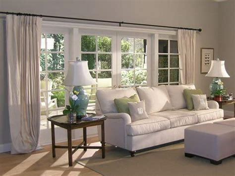 Curtain Ideas For Living Room by Doors Amp Windows Living Room Curtain Treatment Ideas