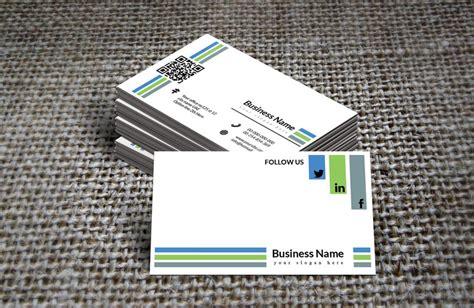 green and white business card template retro black white green business card template free