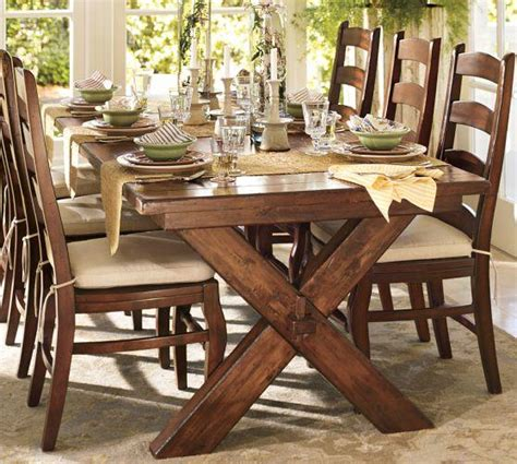 Pottery Barn Toscana Dining Table Toscana Extending Rectangular Dining From Pottery Barn