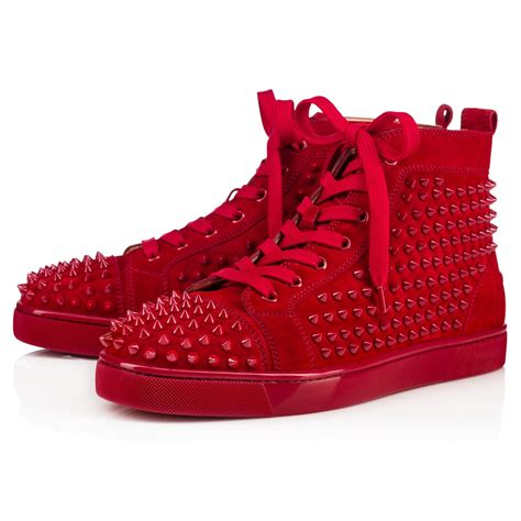 mens christian louboutin studded sneakers christian louboutin studded sneakers white