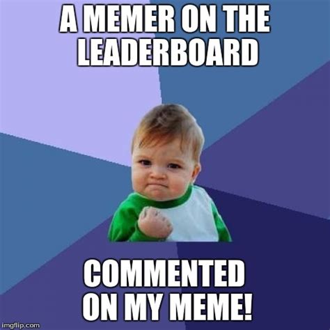 Meme Making - success kid meme imgflip