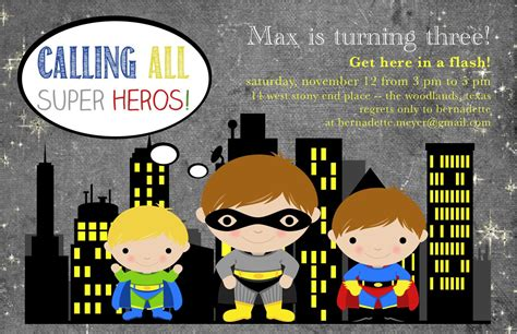 superhero invitation template free is inspirational ideas for new
