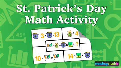 s day math st s day math activity for mashup math