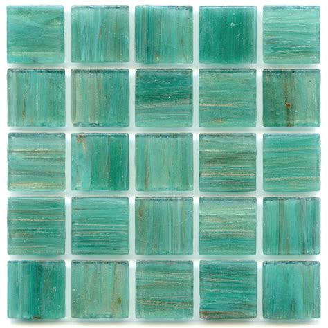 dragonfly teal 0 75 x 0 75 glass mosaic tile mosaic tile