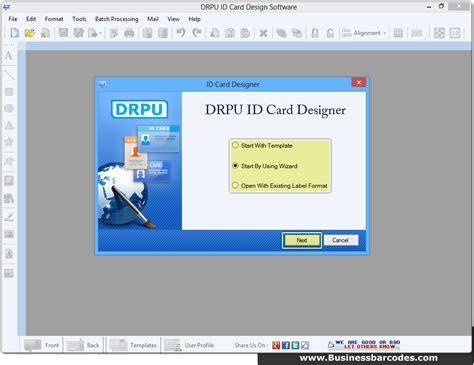 mac id card design software screenshots for designing and screenshots of id card design software businessbarcodes