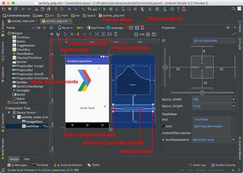 layout resource android constraintlayout androidpub
