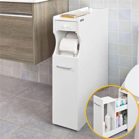 bathroom cabinet toilet roll holder 50gbp sobuy 174 frg50 w white bathroom cabinet toilet paper