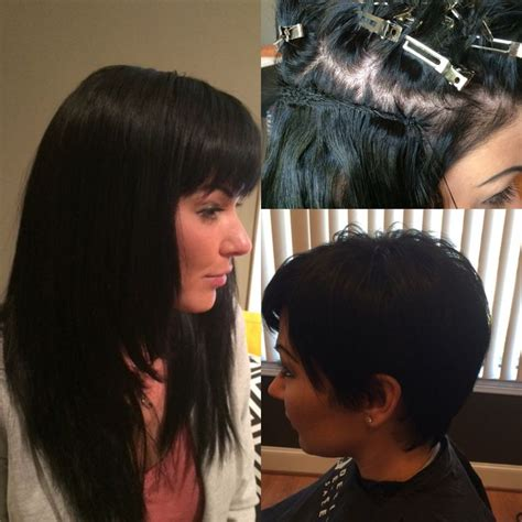 consequences of weave 7 best hair extensions for short hair images on pinterest